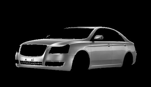 Цвета кузова Emgrand 8 (EC8)